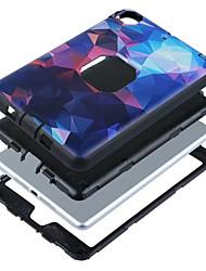 Pour Antichoc Coque Coque Arrière Coque Couleur Pleine Dur PUT pour Apple iPad Mini 3/2/1