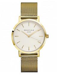 Men's Dress Watch Fashion Watch Quartz Alloy Band Black Blue Silver Gold Rose Gold Brand