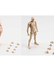 6 le style kun corps corps chan pâle couleur de peau 15cm figma action pvc bandai chiffre de figma des hommes et des femmes