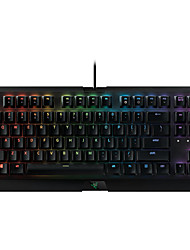 Mechanical keyboard / Gaming keyboard USB Other Monochromatic backlit / RGB backlit Razer BlackWidow X 黑寡妇蜘蛛X 竞技幻彩版