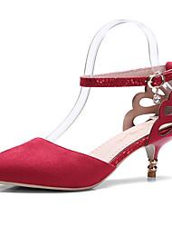 Women's Shoes Heels Spring Summer Fall Winter Platform Comfort  Wedding Party & Evening Casual Stiletto Heel Imitation PearlBlack