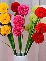 1 Филиал Пластик Другое Букеты на стол Искусственные Цветы 105