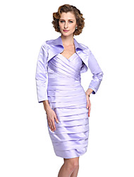 Women's Wrap Shrugs Satin Wedding