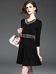 знак бисер бахромы платья шить весну 2017 женщин&# 39, S моды тонкая тонкая талия