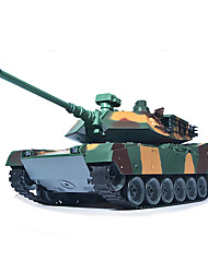 Large American 1 Remote Control Tank 1:18 Model Electric Toy Car Rchargeable Bullets