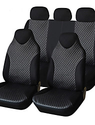 AUTOYOUTH PU Leather Car Seat Cover 7pcs Universal Fits Non- Detachable Headrest Car Styling Car Seat Covers