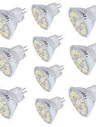 YouOKLight 10pcs MR11 4W Warm White/Cold White 350lm 15-SMD5733 LED Spotlight AC/DC 10-30v
