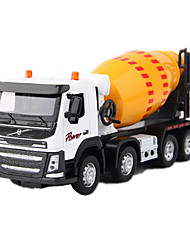 Construction Vehicles Toys 1:50 Metal White