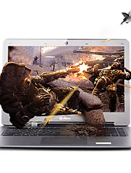 14 pouces atome d'Intel Celeron Intel portable Dere 4GB quad core bélier 500 Go disque dur windows7 Intel HD 2go