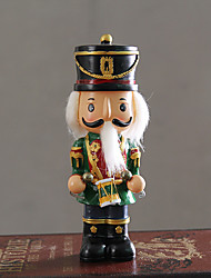 1 PC American Retro Nutcracker Puppet Soldiers Children Room Decor Decoration Creative Home Furnishing Living Room Decoration