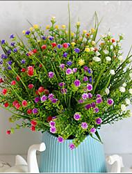 1 Ast Kunststoff Kabel andere andere Tisch-Blumen Künstliche Blumen 7*7*29