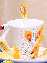 1PC European Ceramic Coffee Cup Set American Tea Cup