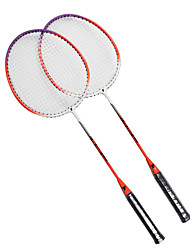 Raquettes de badminton(Orange,Nylon) -Durable