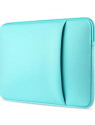 doces 11,6 13,3 14,1 15,6 polegadas com mangas tampa lateral pocket portátil à prova de choque caso dell / hp / Sony / superfície / ausa /