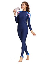 BlueDive® Women's Men's Wetsuits Dive Skins Wetsuit Skin Full WetsuitQuick Dry Ultraviolet Resistant Sunscreen Four-way Stretch