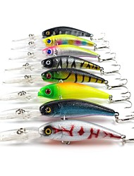 Lot 8 Pcs Hard Bait 10.1cm 7.8g Top Quality Fishing Lures Fishing Tackle Minnow Fishing Bait