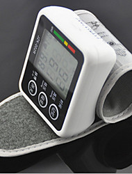 Wrist Blood Pressure Monitor Automatic LCD Display / Time Display Battery
