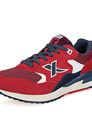 X-tep Sneakers Men's Wearproof Outdoor Low-Top Rubber Perforated EVA Running/Jogging
