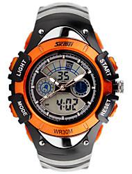 Men's Women's Unisex Sport Watch Fashion Watch Wrist watch Digital Watch Calendar Quartz Digital Silicone Band Charm Casual Luxury