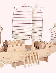 Пазлы Деревянные пазлы Строительные блоки Игрушки своими руками Знаменитое здание Китайская архитектура Корабль Лошадь 1 ДеревоСо