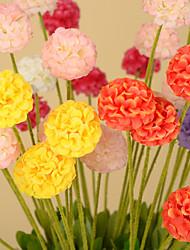 1 Филиал Полиуретан Светло-голубой Букеты на стол Искусственные Цветы 50*10*10