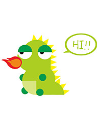 Wall Stickers Wall Decals Style Lovely Dinosaur Switch PVC Wall Stickers