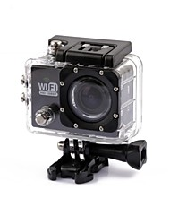SJ5000 Sports Action Camera 4608 x 3456 WiFi Waterproof Anti-Shock 2 CMOS 32 GB H.264 30 M Universal Travel