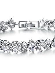 Chain Bracelet Fashion Rhinestone Alloy Jewelry Jewelry For Party Birthday