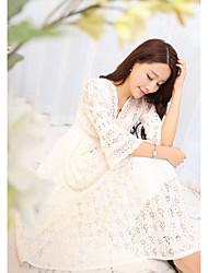 Sign lace dress new Korean ladies temperament Slim was thin dress skirt