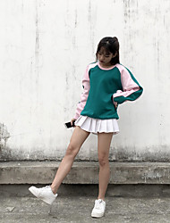 Sign ulzzang spring new Korean hit color fringing loose casual sweater jacket student class service