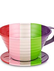 filtro de café de aço inoxidável, 4 xícaras de café por gotejamento reutilizável