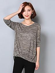 2017 осень жира мм крупных женщин размер основывая свитер тонкий срез с длинным рукавом 200 фунтов жира сестра
