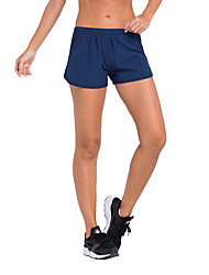 Running Women's Quick Dry Terylene Running Vansydical® Stretchy Loose Outdoor clothing Royal Blue Spring Summer Classic S M L XL