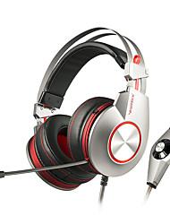 xiberia k5u jogo profissional de fone de ouvido fones de ouvido estéreo de super usb baixo levou headsets jogos estéreo para gamer