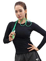 Women's Long Sleeve Running T-shirt Tops Breathable Quick Dry Soft Spring Summer Fall/Autumn Sports WearYoga Pilates Leisure Sports