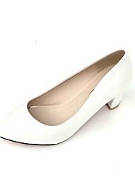 sapatos clube saltos verão das mulheres novidade casamento leatherette cone calcanhar de strass