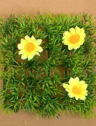 1 Ramo Plástico Flor de Chão Flores artificiais 12*12