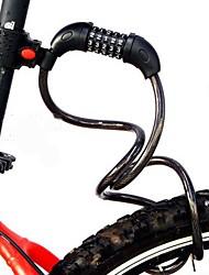 Universal Bike Lock Five Password Lock Mountain Bike Strip Wire Lock Chain Ring Lock