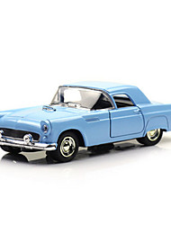 Classic Car Race Car Toys Car Toys 1:28 Metal Plastic Blue Model & Building Toy