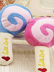Lollipop Plush Sounding Toy Three Color Pet Dog Cat Pet Toy