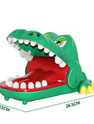 Gags & Practical Jokes Novelty Crocodile Cartoon Cool Novelty & Gag Toys Green ABS Plastic
