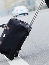 Women Travel Bag Oxford Cloth Outdoor Black