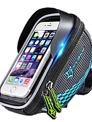 Bike BagBike Handlebar Bag Waterproof Waterproof Zipper Reflective Strip Shockproof Wearable Touch Screen Breathable Phone/IphoneBicycle