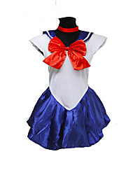 Women's Sailor Moon Cosplay Costume For Girl Anime Sailor Moon Minako Aino / Sailor Venus Cosplay Costume For Halloween Party