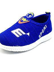 Boy's Sneakers Spring Summer Fall Comfort Tulle Outdoor Casual Flat Heel Blue Red Black/Red Walking