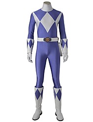 Cosplay Costumes Party Costume Super Heroes Cosplay Movie Cosplay Blue Leotard/Onesie Gloves Belt Boots More AccessoriesHalloween
