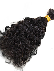 1 Piece High Quality Virgin Human Braiding Hair Bulk Loose Curly Bulk Hair For Braiding No Attachment Brazilian Virgin Hair