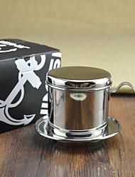 # Aço chá coador inox, máquina de café por gotejamento reutilizável