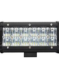 NEW 7inch 60W LED Work Light Bar 5D Flood Beam  Off road Driving Fog Light 6000K 12V Truck ATV SUV