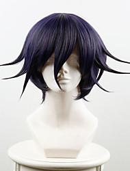 novo projétil no wang v3 quebrado Maichi pequena roxa grande torção alta temperatura peruca fio preto